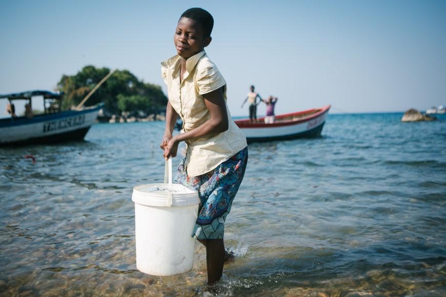 馬拉威湖區的飲水危機