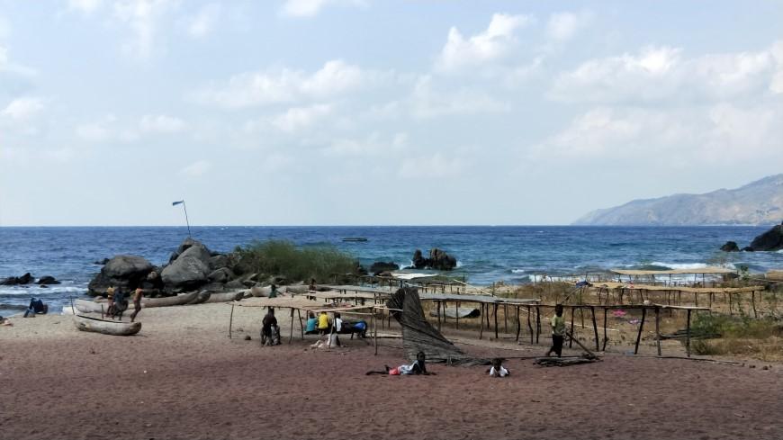 馬拉威湖畔村落Sanje